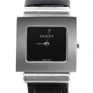 Gucci 600J Square  Stainless Steel Women Analog Watch