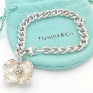 TIFFANY & Co. silver Hibiscus flower bracelet