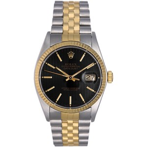 Rolex Datejust 16013 Stainless Steel and 18K Yellow Gold 36mm Mens Watch