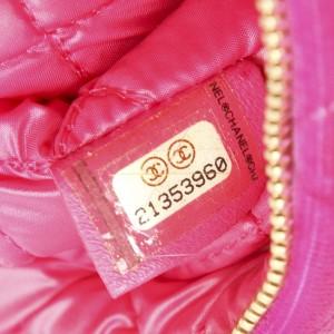 Matelasse Velour Clutch Bag