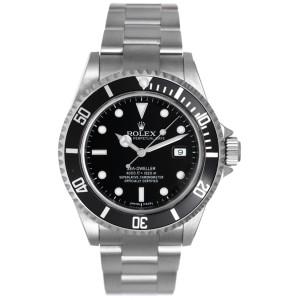 Rolex Sea Dweller 16600 Stainless Steel Divers 40mm Mens Watch