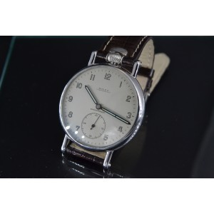 Rolex Stainless Steel & White Dial 46mm Mens Watch