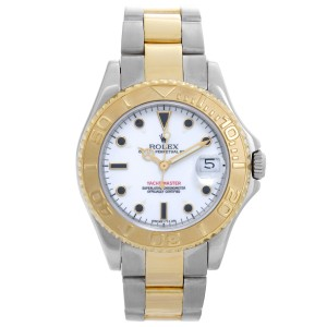 Rolex Yacht-Master 68623 Stainless Steel & 18K Yellow Gold Automatic 35mm Unisex Watch