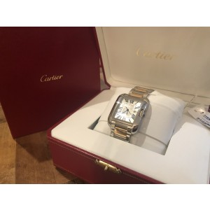 Cartier Tank Anglaise 3511 29.8mm Unisex Watch