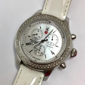 MICHELE JETWAY DIAMOND Chronograph Steel Ladies Watch