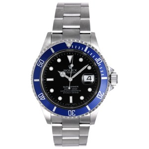 Rolex Submariner 16610 Stainless Steel Sport Diving 40mm Mens Watch