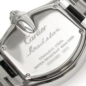 Cartier Roadster Stainless Steel Quartz 32mm Womens Watch