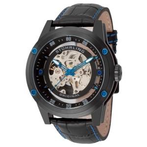 Stuhrling Zolara Z360 314.335513 Stainless Steel & Leather 50mm Watch