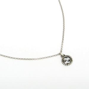 Gucci Silver Arabesque Interlocking G Necklace