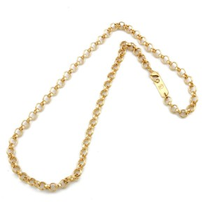 18k yellow Gold Necklace CHAT-533