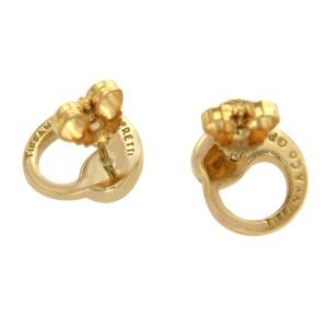 Tiffany & Co. 18K Yellow Gold Peretti Eternal Circle Stud Earrings