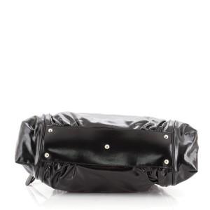 Gucci Pop Bamboo Handle Bag Dialux Coated Canvas Medium