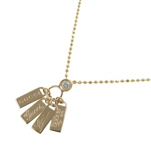 Gucci 18K Rose Gold Diamond Necklace