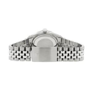 Rolex Datejust Steel 36mm Jubilee Watch/1.1CT Diamond Ice Pink Dial