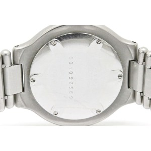 Cartier Must 21 Stainless Steel and Gold Plated Quartz Unisex Watch
