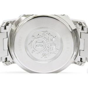 Hermes Clipper Chronograph Stainless Steel Quartz Mens Watch