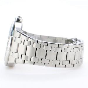 Audemars Piguet Lady Royal Oak 33mm Factory Diamond Bezel/Silver-toned Dial/Stainless Steel Watch