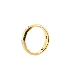 Cartier Stella Diamond Ring 18K Yellow Gold and Diamonds 4mm 5.75 - 51
