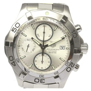 TAG HEUER Stainless Steel/Stainless Steel Aqua racer Watch RCB-93