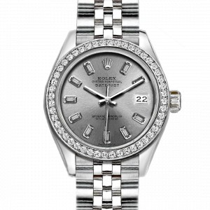 Rolex Datejust Stainless Steel with Silver Dial 26mm Womens Watch