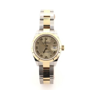 Rolex Oyster Perpetual Lady Datejust Automatic Watch Stainless Steel and Yellow Gold 28