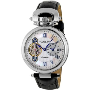 Stuhrling Special Reserve 127.33152 Stainless Steel & Leather 41mm Watch