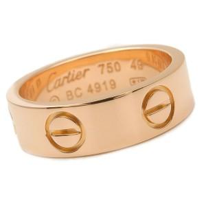 Cartier 18K Rose Gold Love Ring