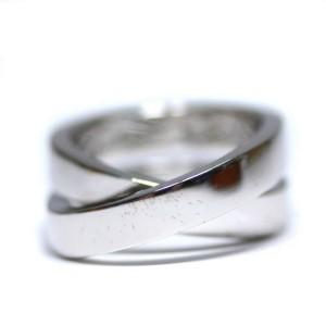 Cartier 18k white Gold Parising Ring