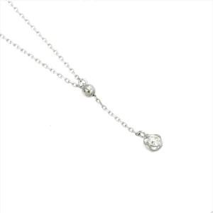 4C 18K white gold Diamond Necklace