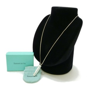 TIFFANY & Co. Sterling Silver 1837 Necklace