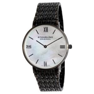 Stuhrling Meydan Concourse 508.11597 Stainless Steel PVD & MOP 33mm Watch