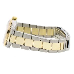 Rolex Datejust 2-Tone 18K Gold/SS 36mm Automatic Oyster Watch w/MOP Roman Diamond Dial & 1.3Ct Bezel