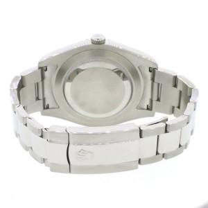 Rolex Datejust II 41mm Automatic Mens Oyster Watch 116300 Baguette MOP Diamond Dial & Bezel, Box & Papers