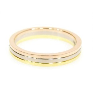 Cartier 18k Tri-Color Gold Ring