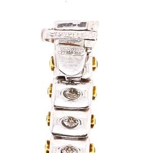 Charles Krypell Precious Pastel 15992 Platinum White & Yellow Diamonds Bracelet