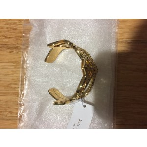 Kate Spade Gold Plated Mask Cuff Bracelet