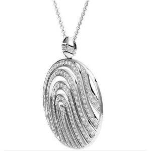 Piaget G36P6417 18K White Gold Diamond Necklace