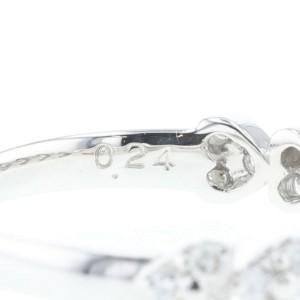 VANDOME AOYAMA platinum diamond Ring