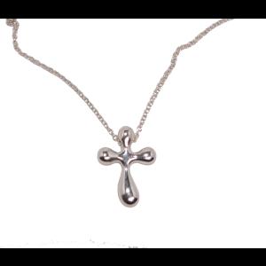 Tiffany & Co. Elsa Peretti Sterling Silver Pendant Necklace