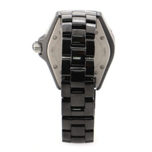 Chanel J12 Quartz Watch Ceramic and Stainless Steel 33