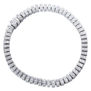 Piaget 18K White Gold Diamonds Bracelet E36566