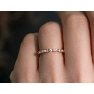 Diamond Eternity Band 3/5 CTW in 14k Rose Gold