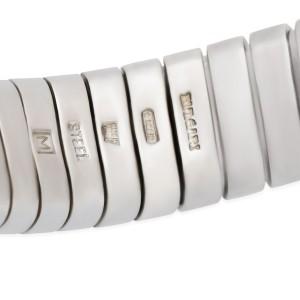 Bulgari Tubogas Stainless Steel with Onyx Bracelet