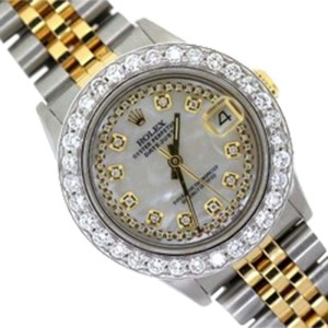 Rolex DateJust Yellow Gold & Stainless Steel Watch 31mm