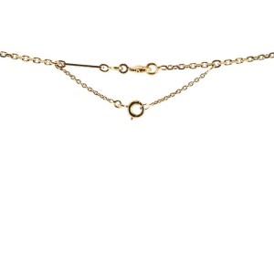 Cartier C Heart de Cartier Pendant Necklace 18K Yellow Gold