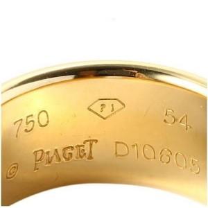 Piaget 18K Yellow Gold Diamond Ring Size 7