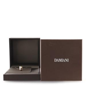 Damiani Abbraccio Necklace White Ceramic and 18K Rose Gold