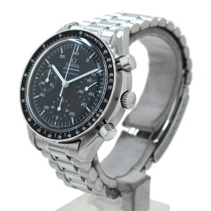 Omega Speedmaster 3510.50 Stainless Steel Black Dial Automatic 38mm Mens Watch