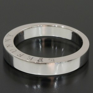 EYEFUNNY Simple Band Ring in 18K White Gold US5.25