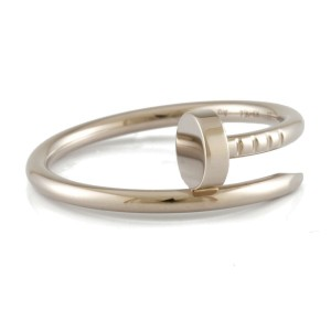 CARTIER 18K white gold Just Uncle Ring